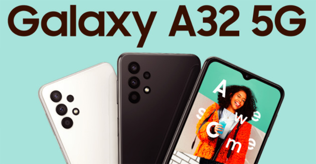 Foto Samusng Galaxy A32 5G in Italia, smartphone di fascia media con Quad-Camera posteriore a 48MP