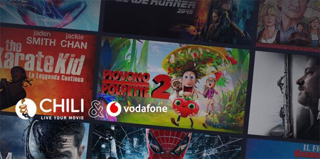 Vodafone augura Buon 2021 regalando 10 euro su Chili ai suoi clienti