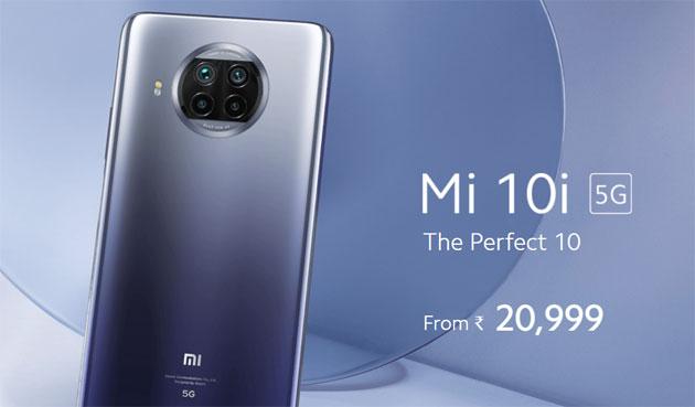 Xiaomi Mi 10i ufficiale con 5G in India