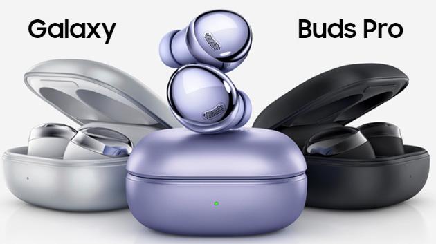Samsung Galaxy Buds Pro con ANC e 360 Audio ufficiali