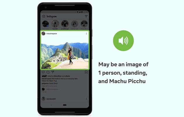 Facebook utilizza IA per migliorare le descrizioni delle foto per le persone non vedenti e ipovedenti