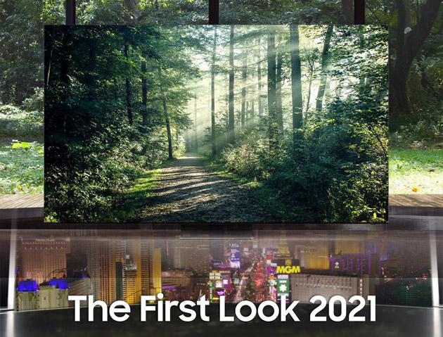 Evento Samsung First Look 2021 tra TV Neo QLED, Micro LED e Lifestyle