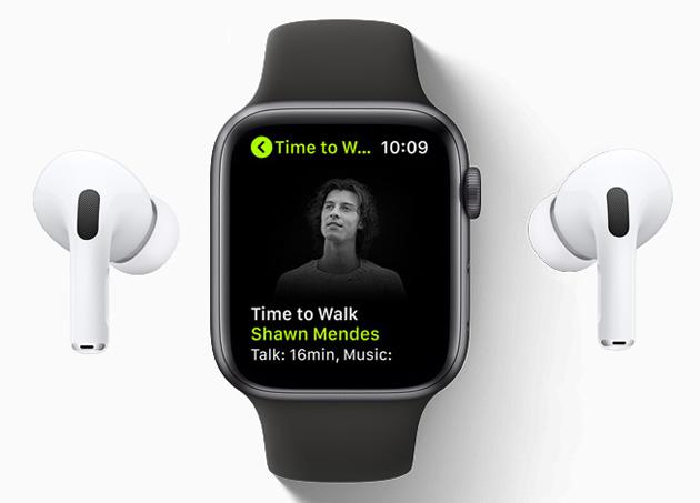 Apple Watch, disponibile Time to Walk per gli abbonati ad Apple Fitness Plus
