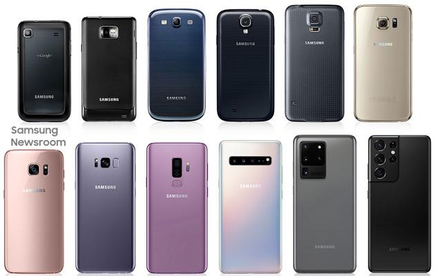Foto Samsung Galaxy S: evoluzione del comparto Fotografico dal primo modello a Galaxy S21