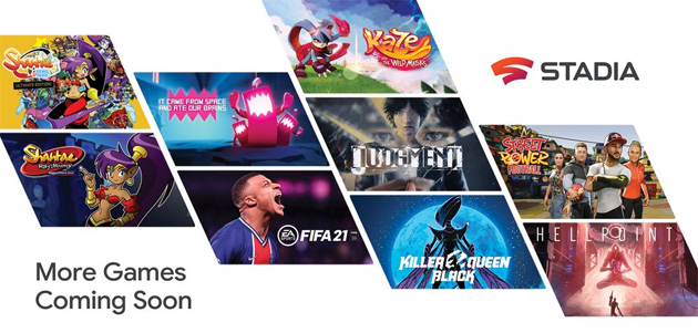 Google Stadia, oltre 100 giochi in arrivo nel 2021, tra cui FIFA 21 e Far Cry 6