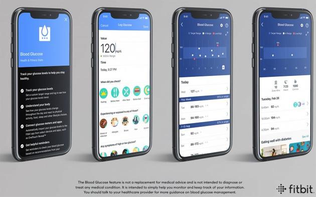 Fitbit introduce il monitoraggio della glicemia nella sua app