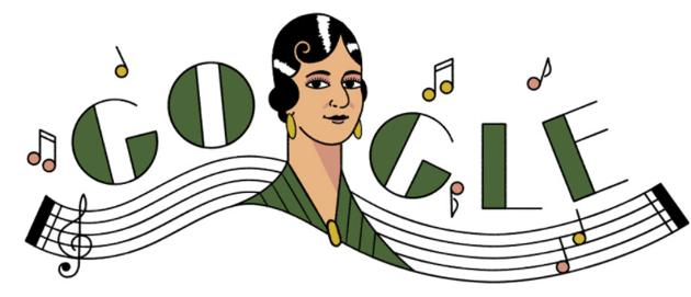 Google dedica doodle a María Grever e a Fredy Hirsch