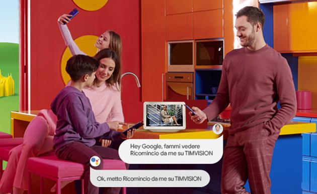 TIMvision su Google Nest Hub: come funziona e configurarlo