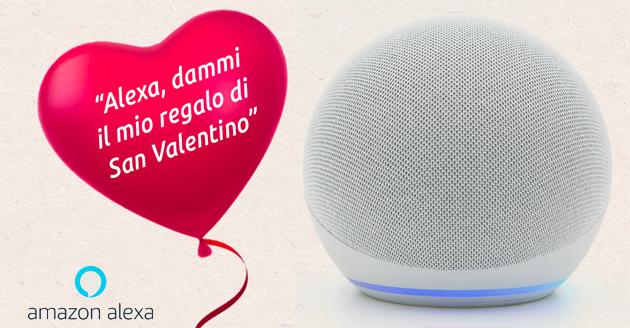 Alexa per San Valentino ha consigli e tanto amore da condividere, basta chiedere