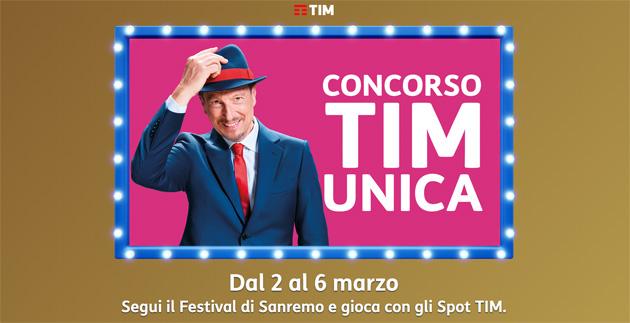 TIM sponsor unico del Festival di Sanremo 2021: i clienti TIM possono vincere premi partecipando al Concorso TIM Unica