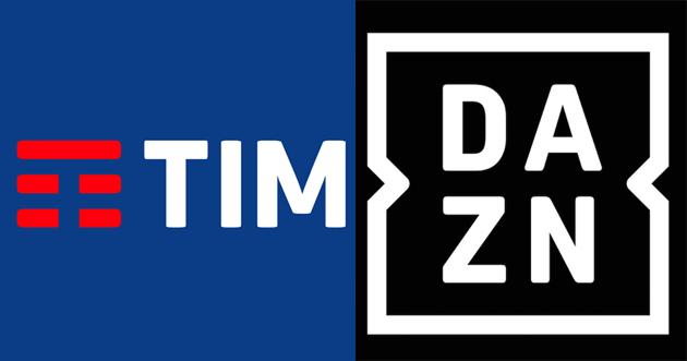 TIM distributore e partner tecnologico di DAZN