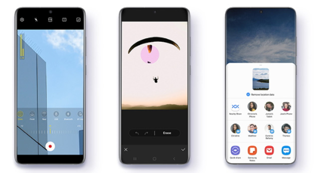 Samsung One UI 3.1 porta diverse funzioni da Galaxy S21 su S20, Note20 e altri Galaxy di fascia alta e media