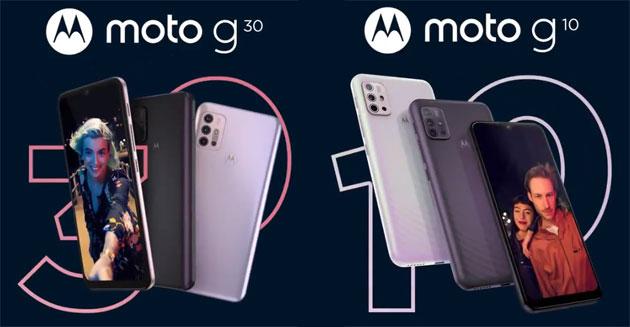 Motorola Moto G30 e Moto G10 ufficiali in Italia