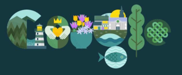 Google dedica Doodle alla Festa di San Patrizio oggi 17 Marzo, ma non solo a questo