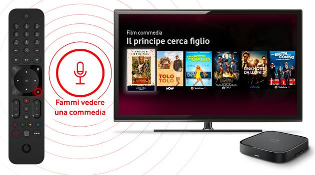 Vodafone TV Box Pro rinnova l'esperienza Vodafone TV