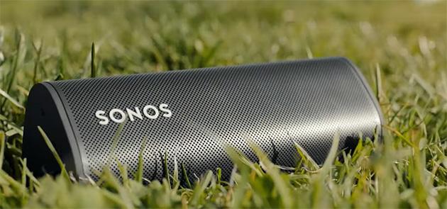 Sonos Roam, smart speaker compatto e portatile con WiFi, Bluetooth e Apple AirPlay 2