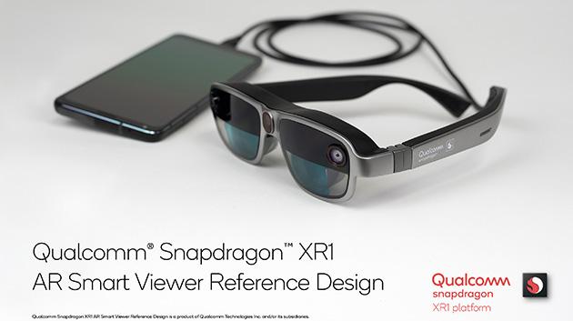 Snapdragon XR1 AR Smart Viewer, il primo visore intelligente Qualcomm funziona anche con smartphone selezionati