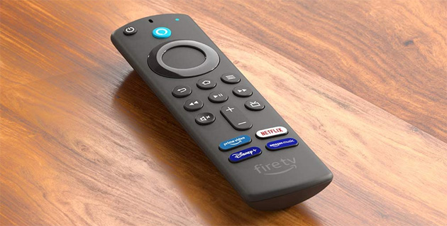 Foto Amazon, nuovi Telecomando Vocale Alexa 3a Gen per Fire TV e Fire TV Stick 2021 in Italia
