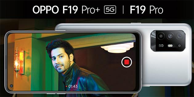 Oppo F19 Pro e F19 Pro Plus 5G ufficiali: Specifiche, Foto e Confronto