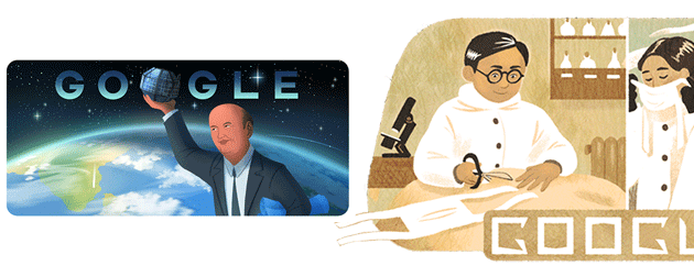 Google dedica doodle a Dr. Wu Lien-teh e a Udupi Ramachandra Rao