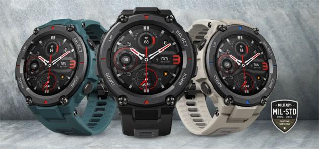Amazfit T-Rex Pro, sportwatch robusto a livello militare con GPS, display Amoled e spO2