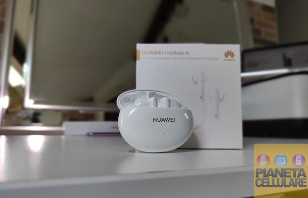 Recensione Huawei FreeBuds 4i, auricolari Bluetooth con ANC e 10 ore di autonomia