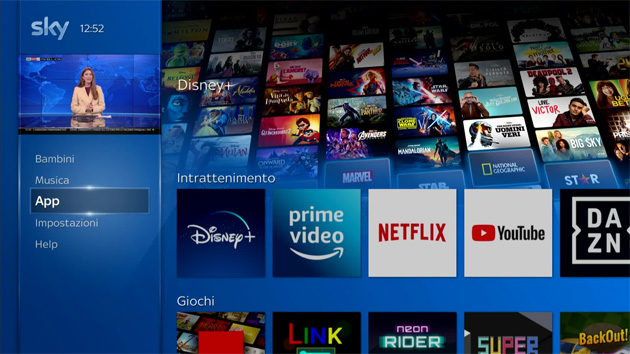 Foto Sky e Disney portano Disney Plus su Sky Q e dispositivi NOW in Italia