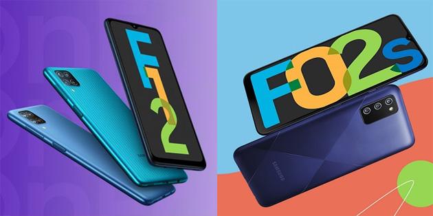 Samsung Galaxy F02s e Galaxy F12 ufficiali