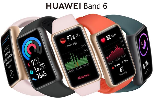 Huawei Band 6 ufficiale con ampio display Amoled e monitoraggio SpO2, sonno, frequenza cardiaca e altro ancora