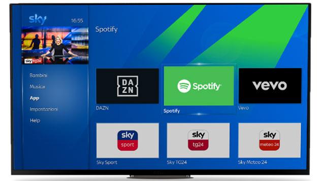App DAZN via da Sky Q e dispositivi NOW entro fine Giugno 2021