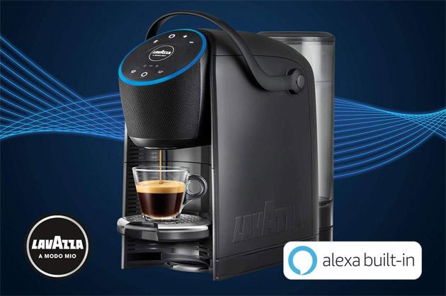 Lavazza A Modo Mio Voicy la prima macchina da espresso con Alexa integrata