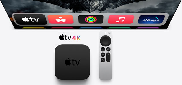 Foto Apple TV 4K 2021 con chip A12 Bionic, HDMI 2.1 e nuovo Telecomando Siri: Specifiche Complete. In Italia da 199 euro
