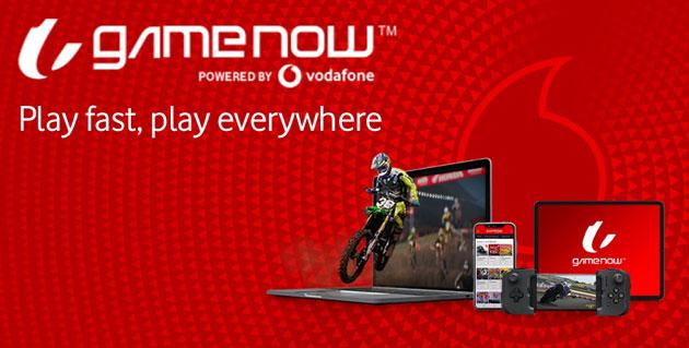 Vodafone lancia GameNow, servizio multipiattaforma di giochi in streaming su abbonamento