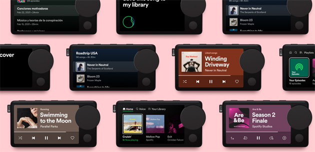 Foto Spotify lancia Car Thing, lettore con display per auto