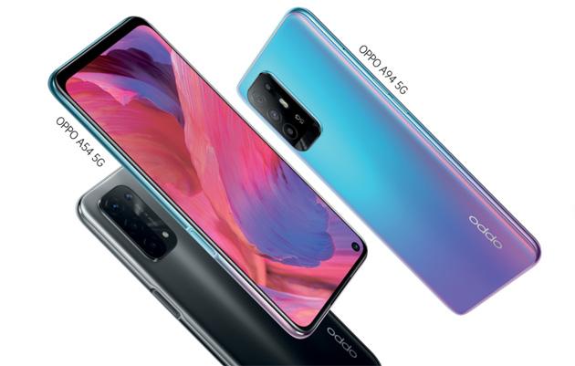 Oppo lancia gli smartphone A94 5G, A74 5G e A54 5G in Italia e il progetto 'Out of This World Colours'