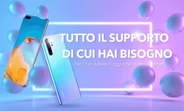 Huawei fa estendere la garanzia commerciale di smartphone e tablet di 6 mesi, fa provare i suoi servizi Music, Video e Mobile Cloud per tre mesi ai suoi utenti e cerca tester del suo Watch GT2 Pro