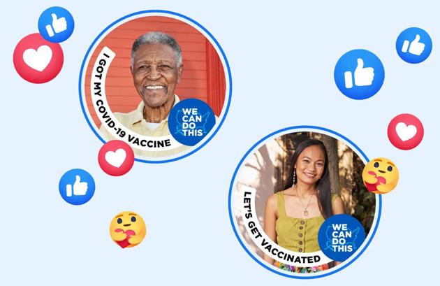 Facebook lancia tag 'Mi sono Vaccinato contro Covid-19' per la foto profilo