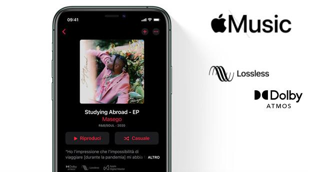 Apple Music con Audio Lossless (HD, Hi-Res) e Spaziale senza costi aggiuntivi per gli abbonati da Giugno 2021