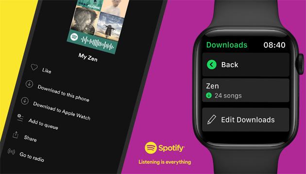 Spotify offline su Apple Watch: come scaricare Playlist, Album e Podcast sul proprio orologio
