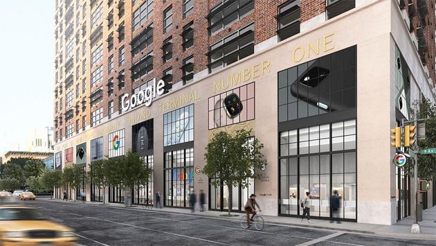 Google apre il suo primo Store fisico