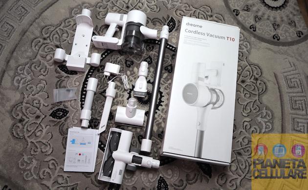 Unboxing Xiaomi Dreame T10 e prime impressioni