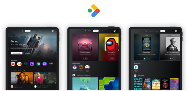 Foto Google introduce lo 'Spazio Intrattenimento' sui tablet Android