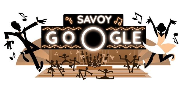 Google dedica doodle al ballo swing e al Savoy Ballroom