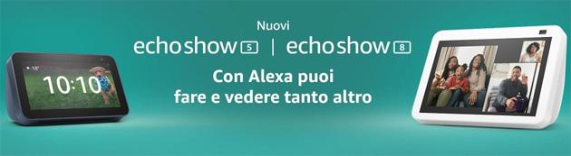 Amazon lancia Echo Show 5 e Echo Show 8 di 2a Generazione con Fotocamere migliori