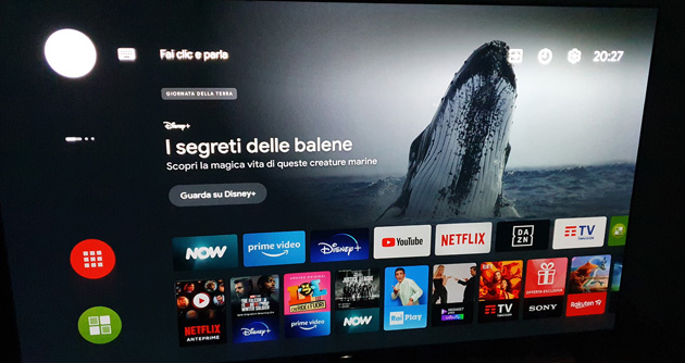 Foto Android TV, limitata la nuova UI simile a Google TV su alcuni device