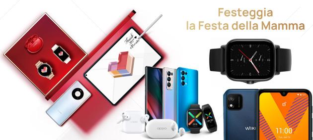 Samsung, Oppo, Huawei, Wiko, Amazfit per la Festa della Mamma 2021 e non solo