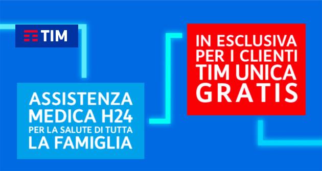 TIM myHealth, polizza assistenza salute gratuita per clienti TIM UNICA: come attivarla e cosa include