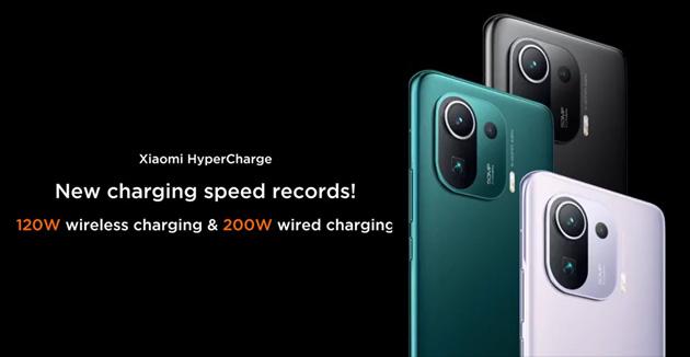 Xiaomi ricarica uno smartphone in 8 minuti con la tecnologia a 200W via cavo