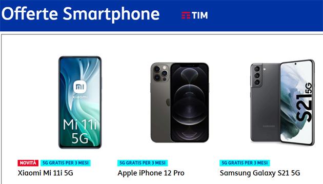 TIM: tutti gli smartphone in catalogo acquistabili (Maggio 2021)