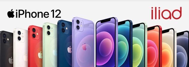 Iliad, offerte con smartphone Apple incluso. iPhone 12 Series ora in catalogo